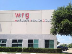 WRG industrial Storefront Sign