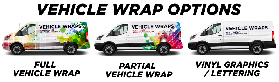 Custom Vehicle Wrap Options