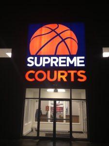 Supreme Courts LED Sign