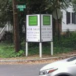 post panel outdoor real estate 150x150 Real Estate Signs